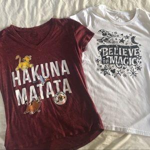 🦁 Medium Disney T-shirt Bundle 🎠